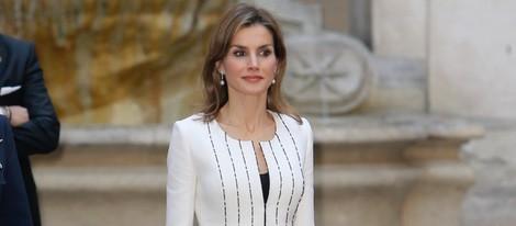 La Reina Letizia en su primer viaje oficial a Italia como Reina de España