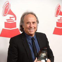 Joan Manuel Serrat en la entrega del premio Persona del Año 2014
