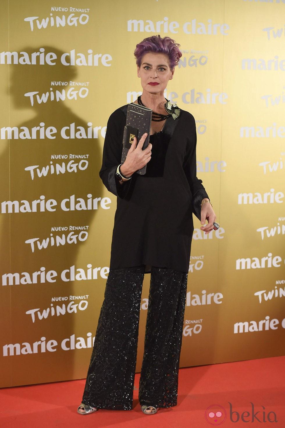 Antonia Dell'Atte en la entrega de los Premios Prix de la Moda 2014