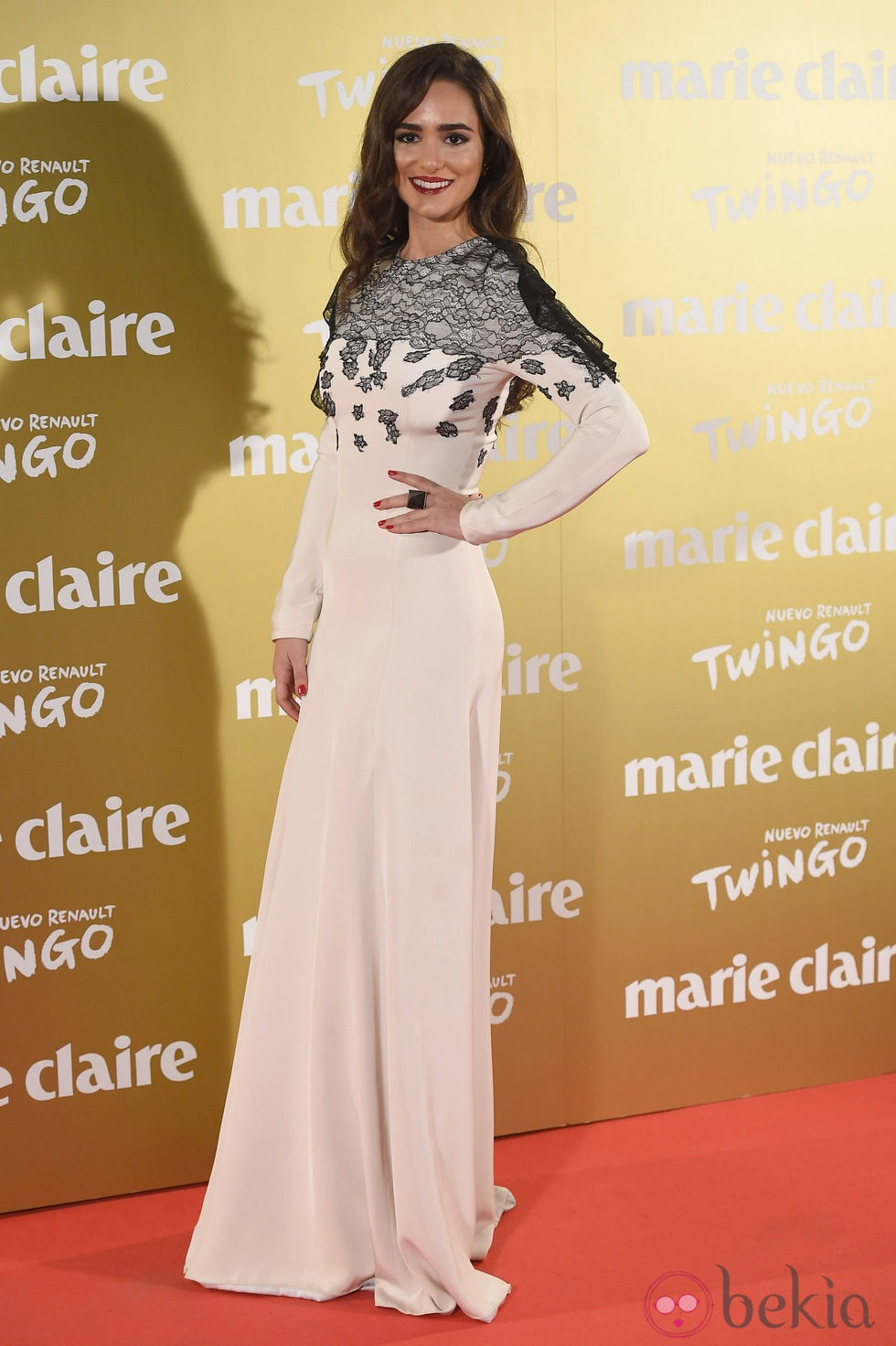Alicia Sanz en la entrega de los Premios Prix de la Moda 2014