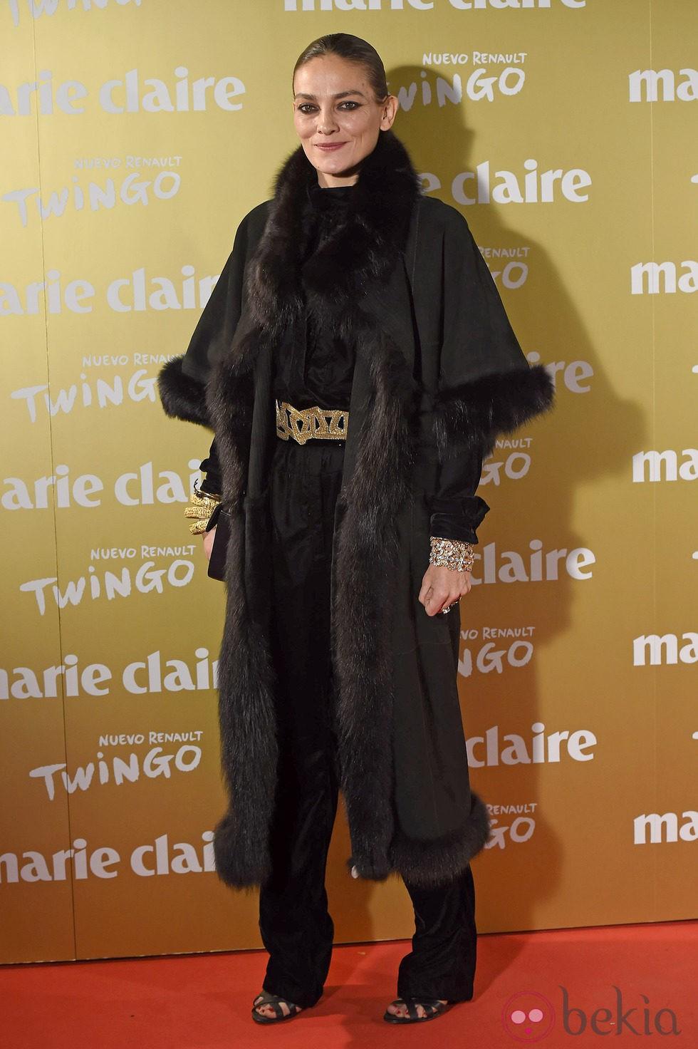 Laura Ponte en la entrega de los Premios Prix de la Moda 2014