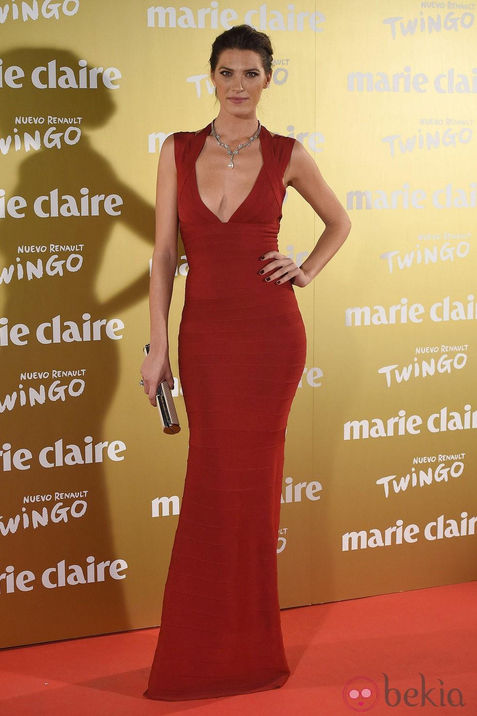 Laura Sánchez en la entrega de los Premios Prix de la Moda 2014