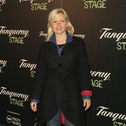 Lluvia Rojo en el estreno de la obra de teatro 'Hanky Panky'