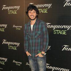 Javier Pereira en el estreno de la obra de teatro 'Hanky Panky'