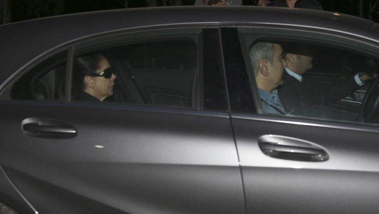 Isabel Pantoja ingresando en la cárcel de Alcalá de Guadaíra
