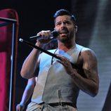 Ricky Martin en la entrega de los Premios Grammy Latino 2014