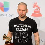 René Pérez en la entrega de los Premios Grammy Latino 2014