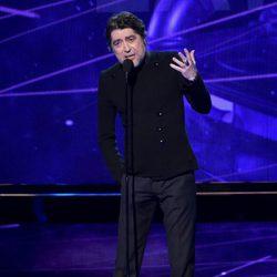Joaquín Sabina en la entrega de los Premios Grammy Latino 2014