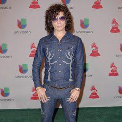 Bunbury en la entrega de los Premios Grammy Latino 2014