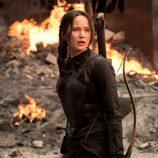 Jennifer Lawrence en 'Los Juegos del Hambre: Sinsajo Parte 1'