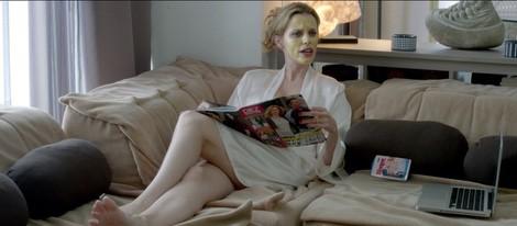 Carolina Bang en una escena de 'Dos a la carta'
