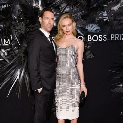 Kate Bosworth y Michael Polish en la entrega de los Hugo Boss Prize 2014
