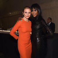 Cameron Diaz y Naomi Campbell en una gala del Museo de Historia Natural de Nueva York