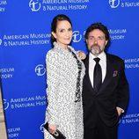 Tina Fey y Jeff Richmond en una gala del Museo de Historia Natural de Nueva York