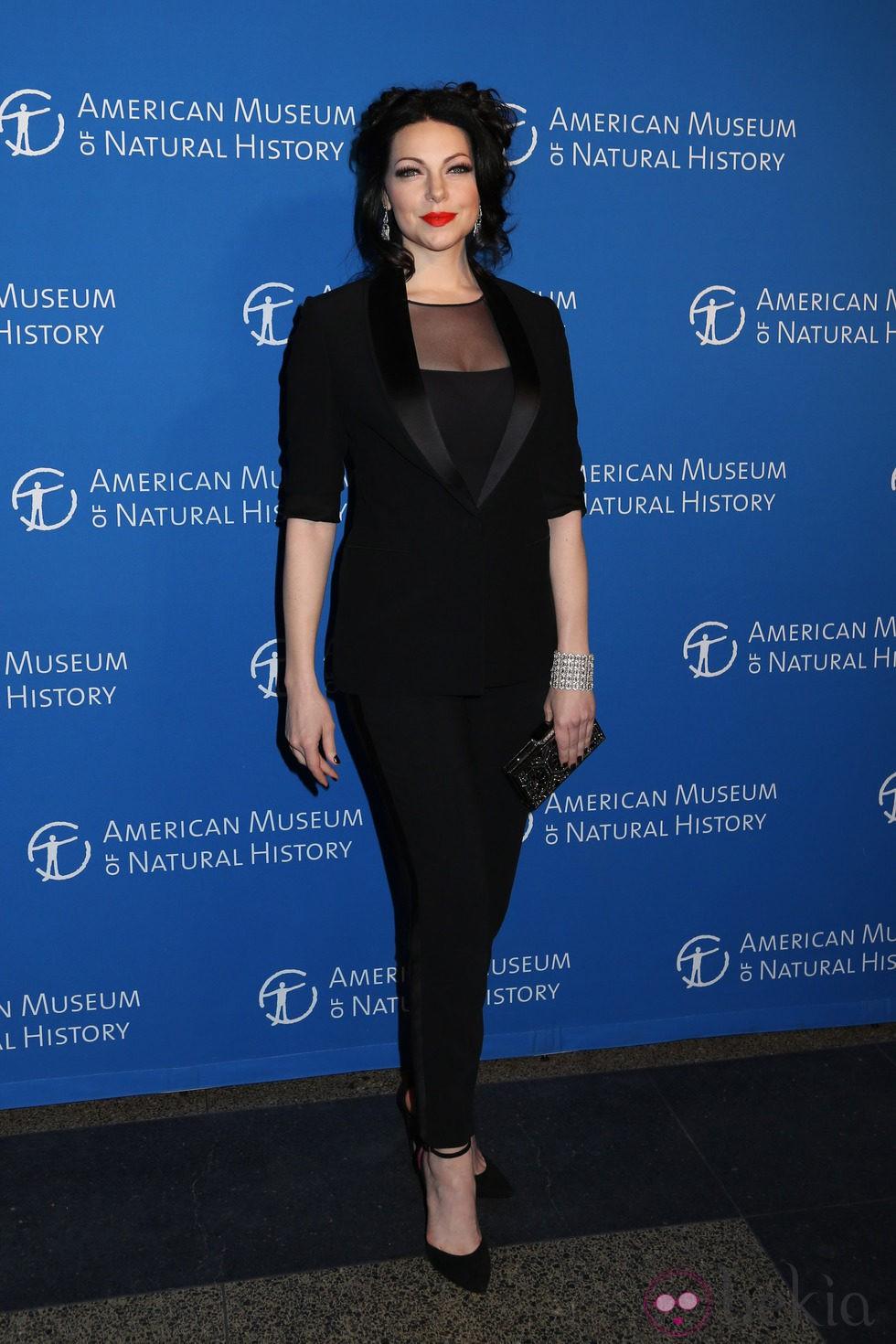Laura Prepon en una gala del Museo de Historia Natural de Nueva York