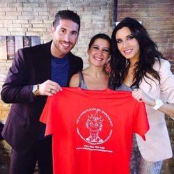Pilar Rubio y Sergio Ramos arropan a Sara Baras en la lucha contra el sídrome del Rett