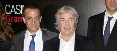 Ángel Nieto y JJ Santos en los Premios Antena de Oro 2014