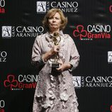 Pilar Cernuda en los Premios Antena de Oro 2014