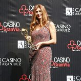 Patricia Betancort en los Premios Antena de Oro 2014