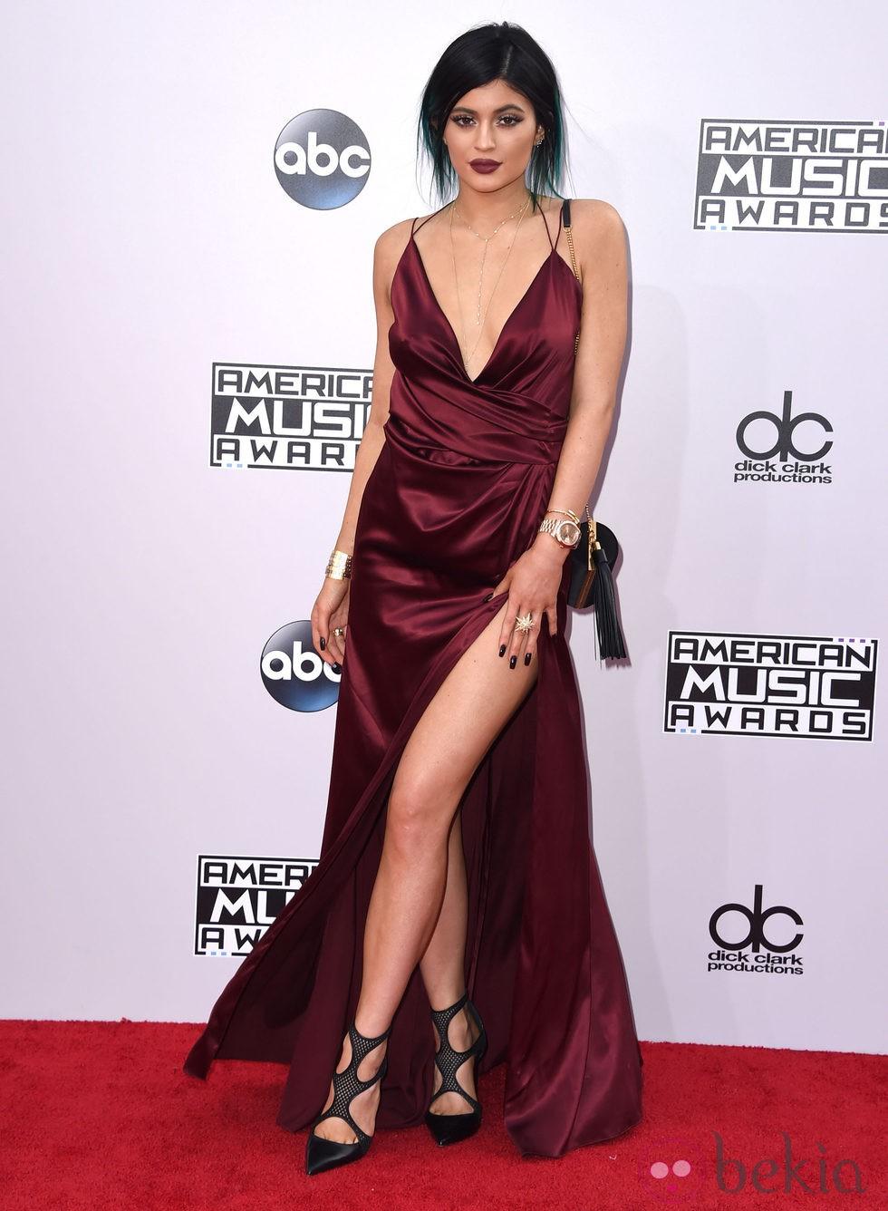 kylie jenner en los american music awards 2014   los