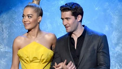 Rita Ora y Matthew Morrison en los American Music Awards 2014