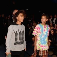 Jaden Smith y Willow Smith en los American Music Awards 2014