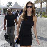 Nicole Scherzinger en el GP de Abu Dhabi 2014