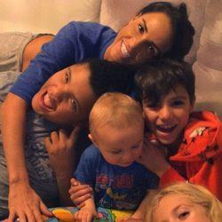 Katie Price y sus cinco hijos