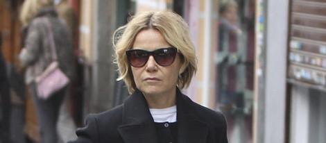 Eugenia Martínez de Irujo regresa a Madrid tras la muerte de la Duquesa de Alba