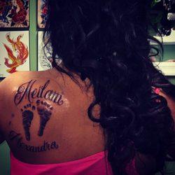 JWoww se tatúa el nombre de su hija