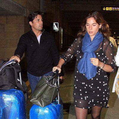 Fran Rivera y Lourdes Montes a su vuelta de México tras pasar unos días de vacaciones