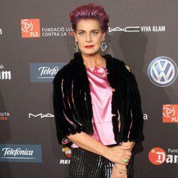Antonia Dell'Atte en una gala benéfica contra el Sida en Barcelona