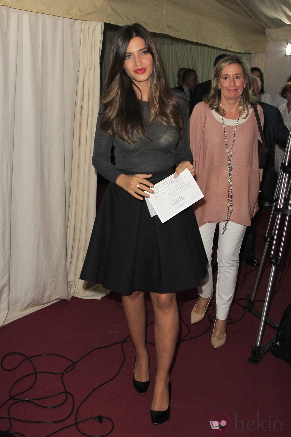 Sara Carbonero en la presentación del libro 'Ser mujer'