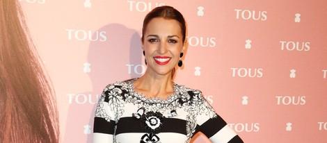 Paula Echevarría en la presentación de un fashion clip de Tous