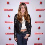 Silvia Casas en un concierto de Leiva en Madrid