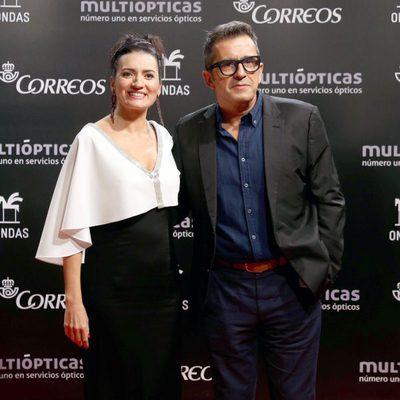Silvia Abril y Andreu Buenafuente en los Premios Ondas 2014