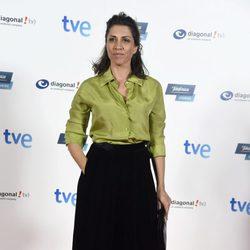 Alicia Borrachero en el estreno del último capítulo de 'Isabel'