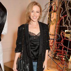Kylie Minogue en la fiesta de encendido de las luces de Navidad de Stella McCartney