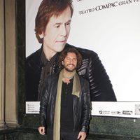 Manuel Carrasco en el concierto de Raphael en Madrid