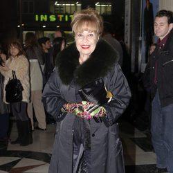 Gemma Cuervo en el concierto de Raphael en Madrid