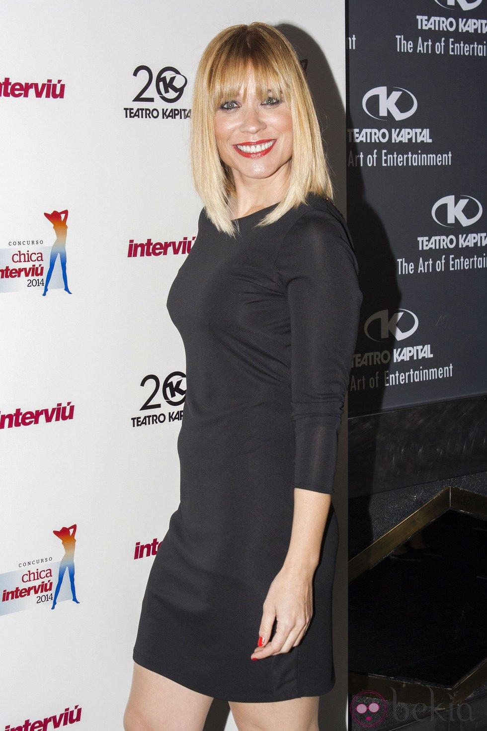 Carla Hidalgo en la elección de la Chica Interviú 2014 - Gala de ...