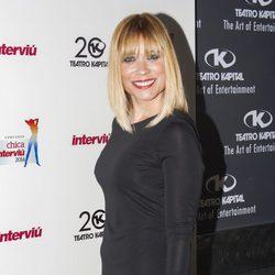 Carla Hidalgo en la elección de la Chica Interviú 2014