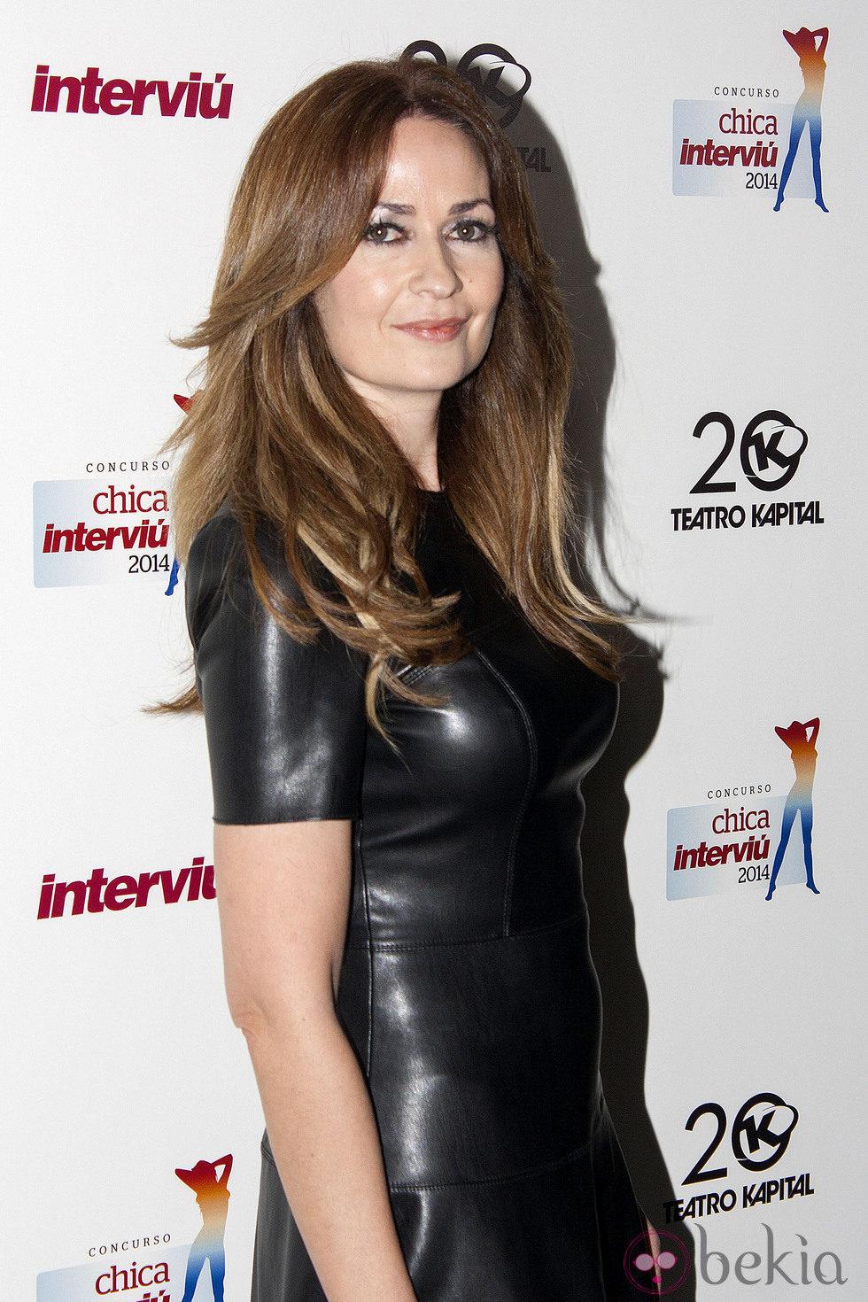 Olvido Hormigos en la elección de la Chica Interviú 2014