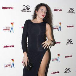Samira en la elección de la Chica Interviú 2014