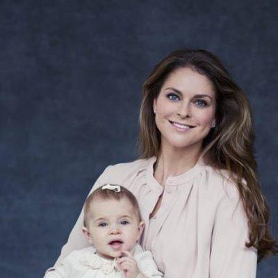Magdalena de Suecia y su hija la Princesa Leonor felicitan Acción de Gracias 2014