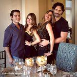 Sofia Vergara celebra Acción de gracias con su hijo, su sobrina y su novio Joe Manganiello