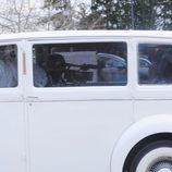 Snooki llegando a su boda