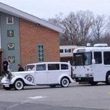 El Rolls Royce que llevó a Snooki hasta la iglesia