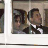 Los novios, Snooki y Jionni LaValle el dia de su boda
