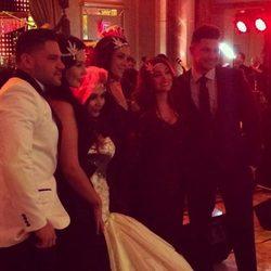 Los compañeros de Snooki de 'Jersey Shore' en su boda